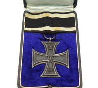 Cased Imperial 2nd Class Iron Cross by Fr.