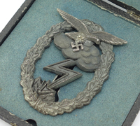 Rare Cased - Luftwaffe Ground Combat Badge by GWL