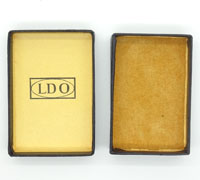 LDO Issue case for Black Wound Badge