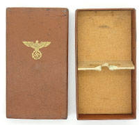 Issue case for NSDAP 10 year Long Service