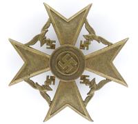 Spanish Cross in Bronze by P. Meybauer