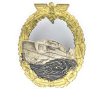 1st Pattern S-Boat War Badge by Schwerin