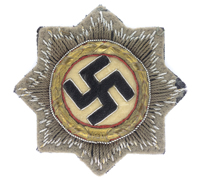 German Cross in Gold for the Waffen-SS
