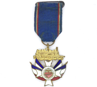French – Christian Railroad Medal 1919