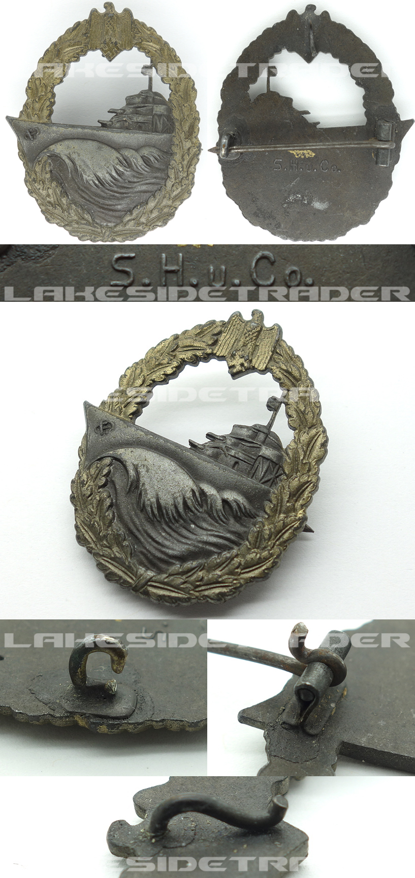Navy Destroyer Badge By S H U Co Lakesidetrader