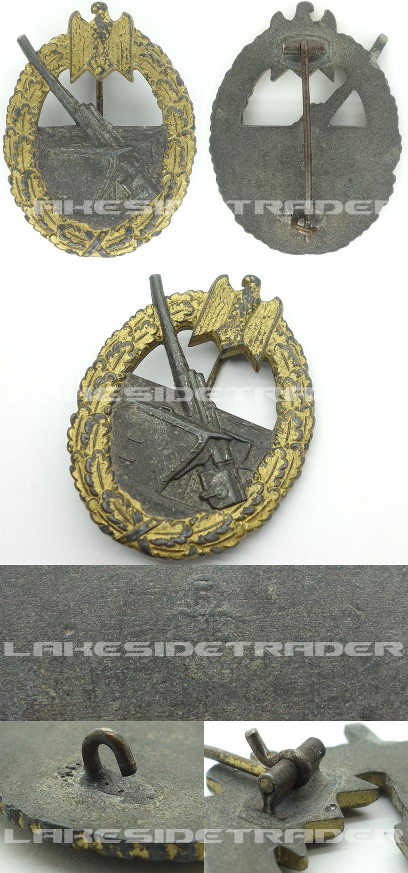 Navy Coastal Artillery Badge by FLL 43