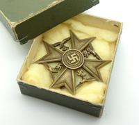 Unique Cased - Spanish Cross in Bronze