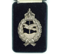 Cased Imperial Prussian Commemorative Flyer Badge