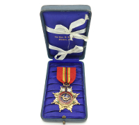 Cased Masonic Shriner Medal