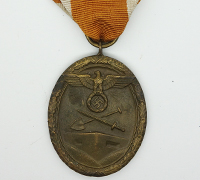 Early West Wall Medal in Tombak