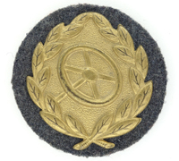 Luftwaffe - Drivers Proficiency Badge in Gold