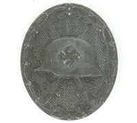 Wound Badge in Silver by 4