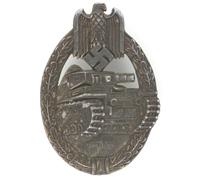 Silver Panzer Assault Badge by W. Hobacher