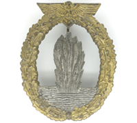 Navy Minesweeper Badge by A. Scholze