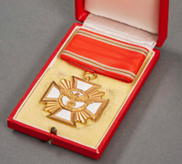 Cased - NSDAP 25 Year Long Service Award