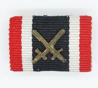 2nd Class War Merit Cross with Swords Ribbon Bar