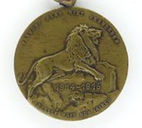 Belgian World War 1 Remembrance Medal