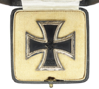 Cased 1st Class Iron Cross by 100