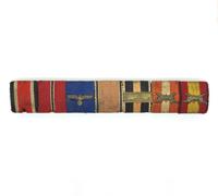 Seven Piece Campaign and Condor Legion Medal Bar