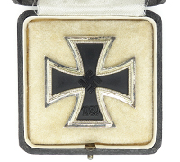 Cased 1st Class Iron Cross by W. Deumer