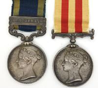 Punjab Medal w Goojerat bar & India Mutiny w research