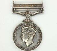 British and Commonwealth 1918 General Service Medal w Malaya Bar