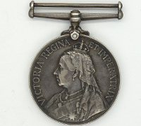 Queen's South Africa Medal 1899 w partial research record
