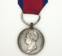 Waterloo Medal 1815 w partial research