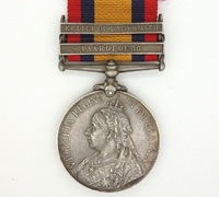 3 bar Queen's South Africa Medal 1899