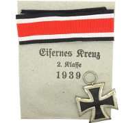 2nd Class Iron Cross with Packet