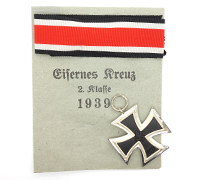 2nd Class Iron Cross in Issue Packet