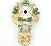 Shooting Award 50 Year member pin