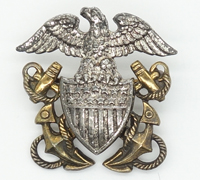 US Navy 2 piece gold/Silver pin