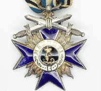 Bavarian Military Merit Cross; 4th Class Cross with Swords