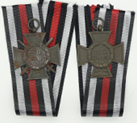 Set of 2 Hindenburg Crosses