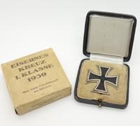 Cased & Carton 1st Class Iron Cross by 65