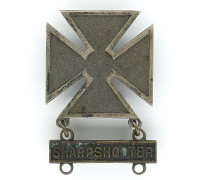 US Army Marksman Badge with a Sharpshooter Clasp