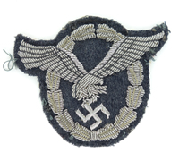 Luftwaffe Pilot Badge in Cloth for Officers
