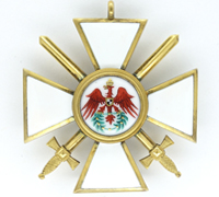 Prussian Order of the Red Eagle with Swords 3rd Class
