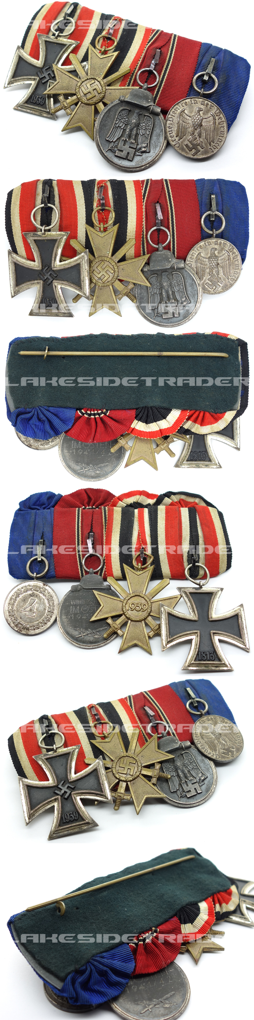 Four Piece Army Medal Bar