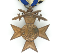 Bavarian 3rd Class Military Merit Cross with Swords