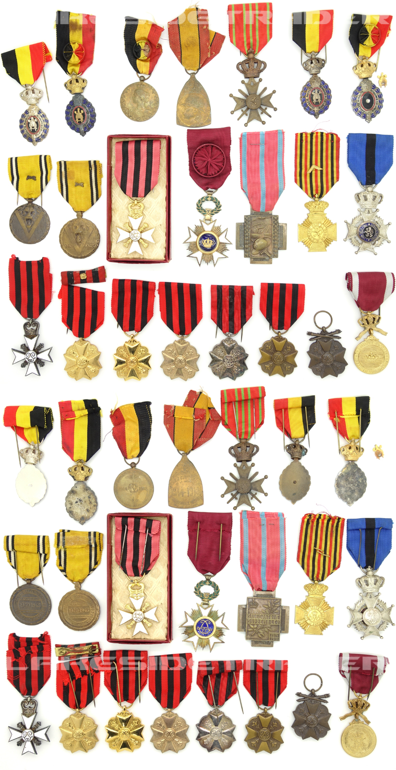 Belgian Medals, Decorations and Orders
