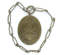 West Wall Medal on Chain