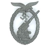 "Luftwaffe ""Ball Hinge"" Flak Badge"