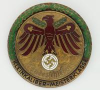 1940 German Master Class Small Bore Target Shooting Marksmanship Badge