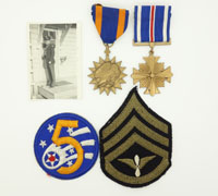 US Vet Group WWII Army Air Corps 5th Air Force