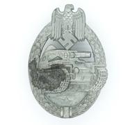 Silver Panzer Assault Badge by F. Wiedmann