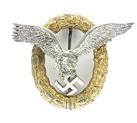 Luftwaffe Pilot Observer Badge by FLL