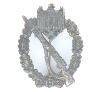 Silver Infantry Assault Badge by Julius Bauer & Co.