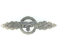Luftwaffe Transport Clasp in Silver